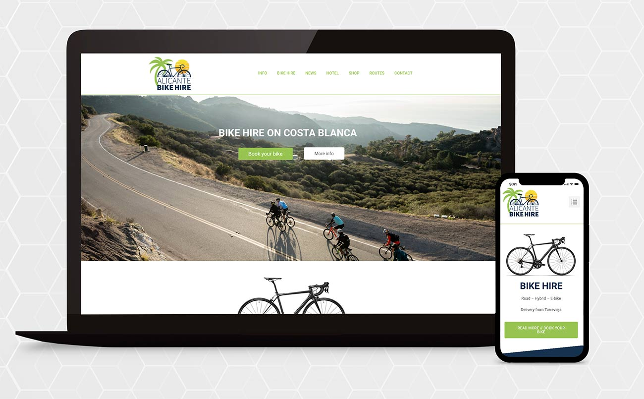 Alicante Bike Hire - ess Design