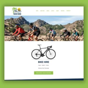Redesign hjemmeside Alicante Bike Hire