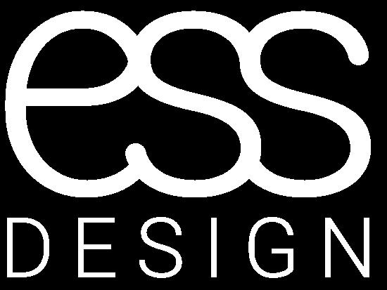 essDeisgn logo HVIT